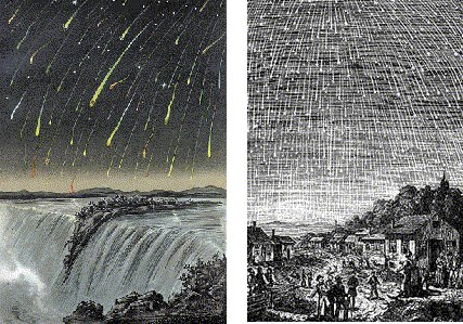 Leonid Meteor Shower 1833 The Leonid Meteor Shower