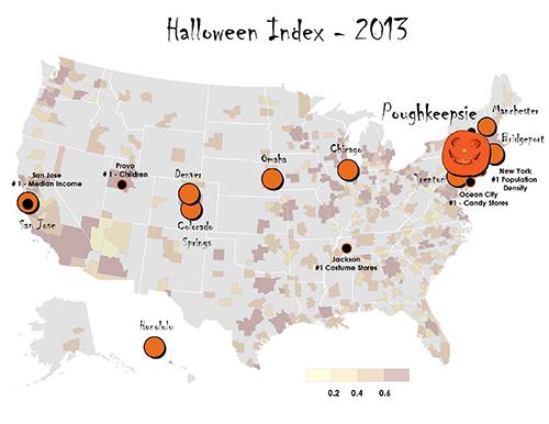 Poughkeepsie has the biggest pumpkin!