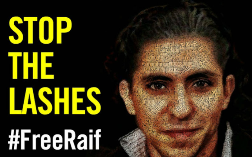#FreeRaif - Stop the lashes!