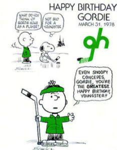 PeanutsGordieHowe