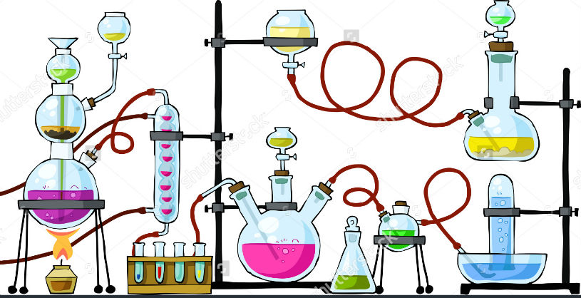 laboratory-on-a-white-background
