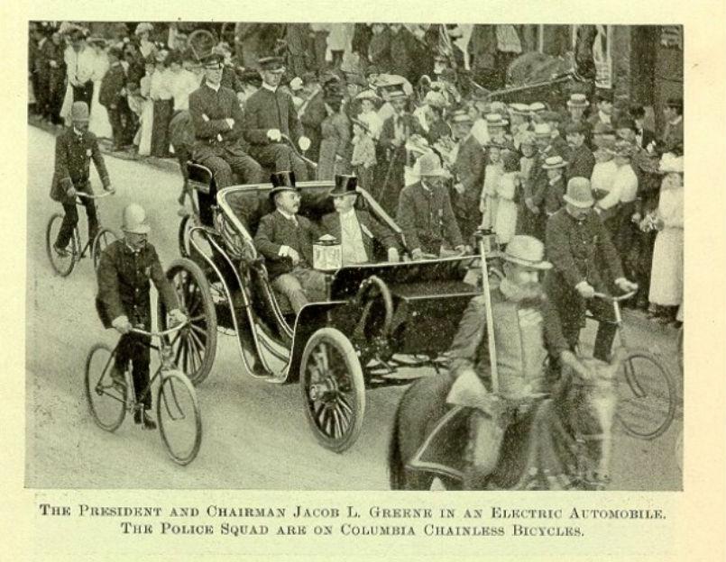 PresidentRoosevelt car