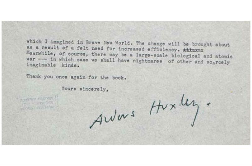 Image Result For Aldous Huxley Brave