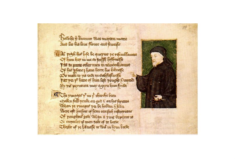 Chaucer And Valentines Day The Gad About Town